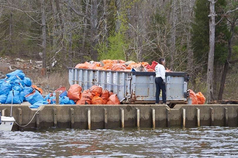 CJL 3-19-16 Blue bags for plastic bottle repurposing