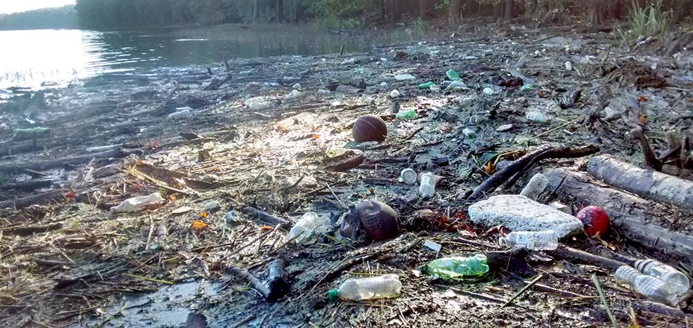 We Help enable Local Community Members and businesses to remove and prevent the trash collecting at Jordan Lake. -