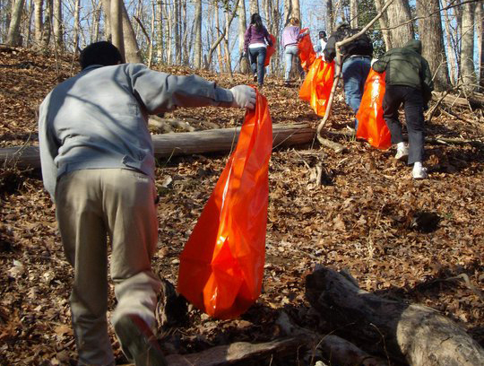 Clean Jordan Lake sponsors semi-annual trash cleanup events -