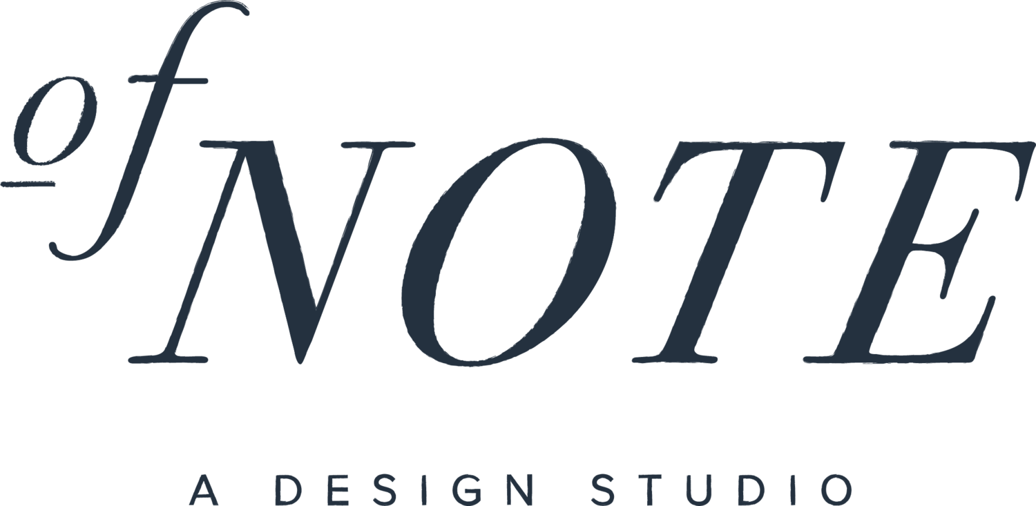 Of Note, Perth Graphic Design | Branding, Website Design & Photography