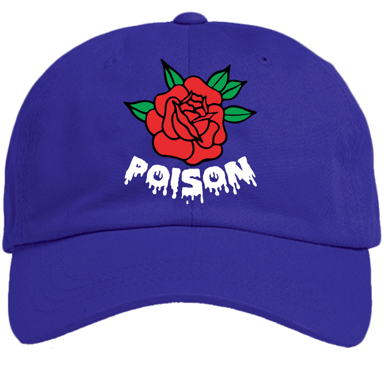 d801ea1612d Poison Rose Hat — Poison Clothing Company