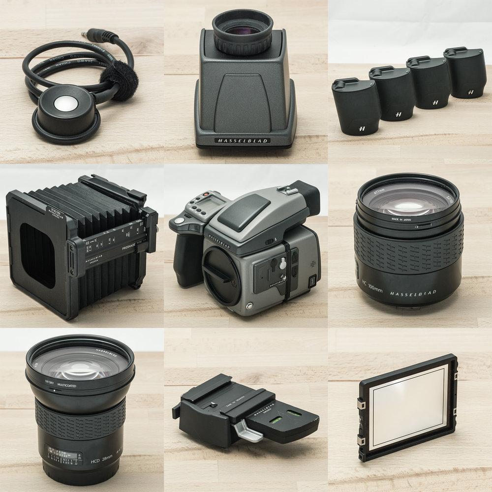 Hasselblad Complete set