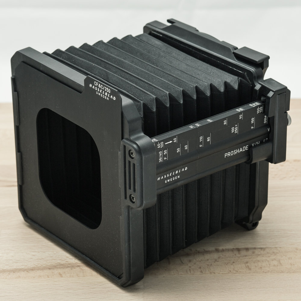 Hasselblad Proshade V/H + Rectangular Mask