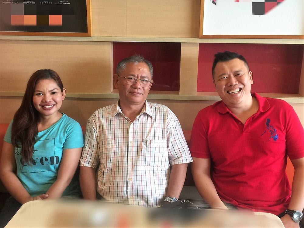 Joint Oceantera and Poseidon RE Corp meeting with Northern Samar Electric Cooperative (NORSAMELCO).