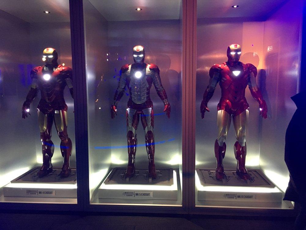 Tony Stark's lab. Photo credit: Matt Dobbie