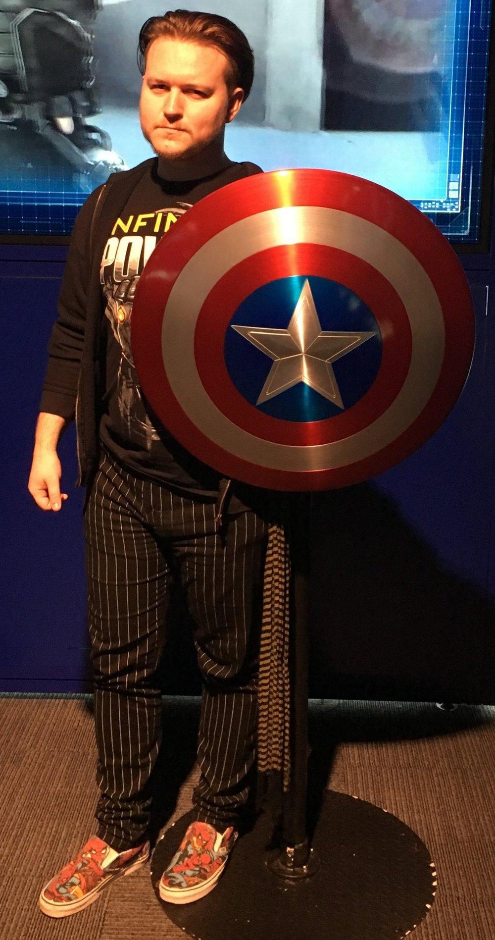 I'm your captain now. Photo Credit: Matt Dobbie