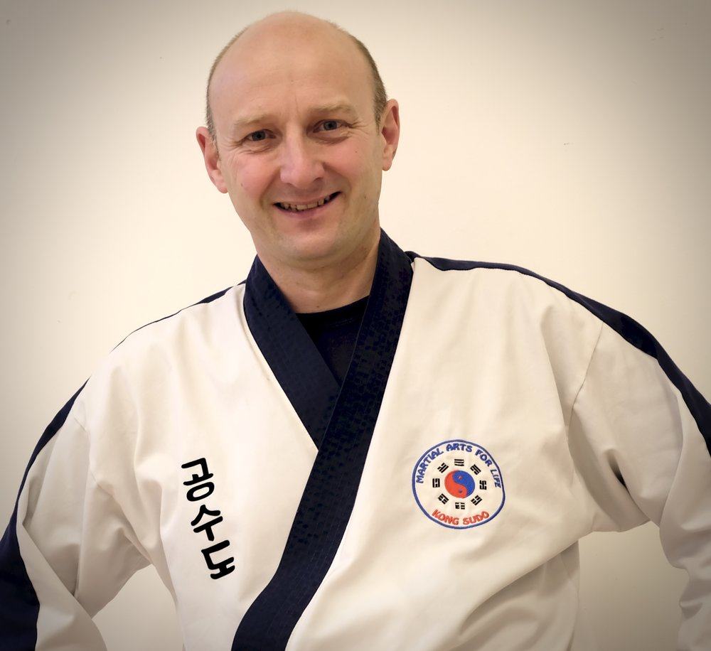 "Master Geoff Crocker - Lead Instructor (4th Dan)   Master Crocker joined Martial Arts for Life in 2008 initially along with his son who had already started and shortly after his daughter also joined. He achieved his 1st Dan in 2011 and 4th Dan in June 2018. Having now retired after 30 years in the Police he is now able to continue with his passion of practicing and teaching Martial Arts.  ""Before joining the Police in 1988 I had started Shotokan Karate and this led to my interest in Martial Arts. I went on to study Police Taiho-Jutsu affiliated to the British Aikido Association. In 1994 I attained a blue belt and along with this my instructor status which lead me to teaching self defence, control, restraint and officer safety training in Devon and Cornwall Constabulary."""