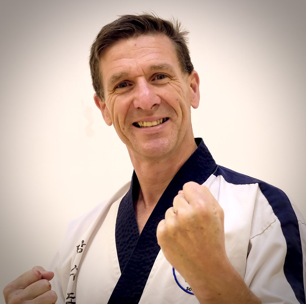 "Master Andy Moodie - Lead Instructor (4th Dan)   Master Moodie is & has been a committed student for many years, having recently turned his hand to teaching. He is our Fitness Expert and particularly enjoys both free sparring and the practical aspects of Karate training.  ""I hope all of my students get as much from their training as I do and that they are always inspired to achieve their personal goals."""