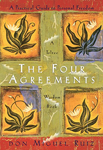 Book Review: The Four Agreements by Don Miguel Ruiz - The Four Agreements by don Miguel Ruiz is a fantastic starting point for novices in the realm of self-exploration, self-understanding and self-development. In The Four Agreements, don Miguel teaches a powerful code of conduct that enables readers to rapidly transform their self-limiting beliefs, to experience a new life of freedom and happiness. This is one of first book I recommend to people looking to improve their lives.