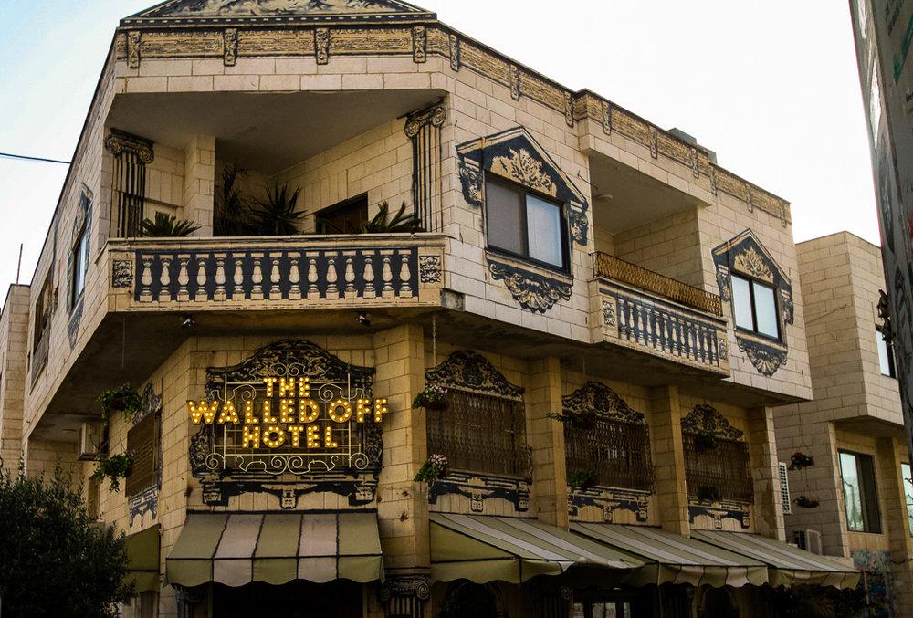 Banksy Hotel in Bethlehem