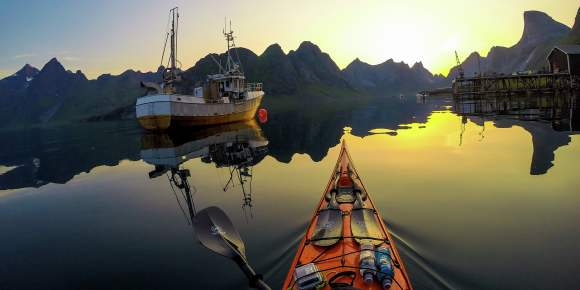 Sea Kayaking - Explore Lofoten from your own Kayak