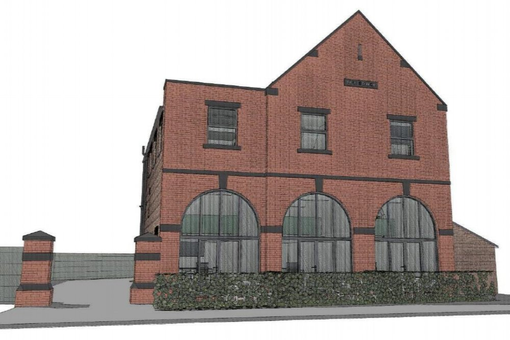 Fire station conversion scheme - Conversion of a former fire station into 9 residential apartments