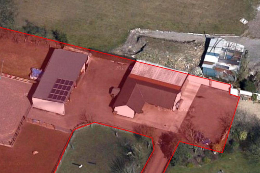 Equestrian site redevelopment - Redevelopment of a stables and menage in South Ribble to form a new timber framed eco-house for the site owners.
