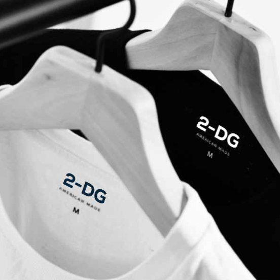 2-DG - A new sustainable brand that is helping in the fight against cancer. Full Branding experience.