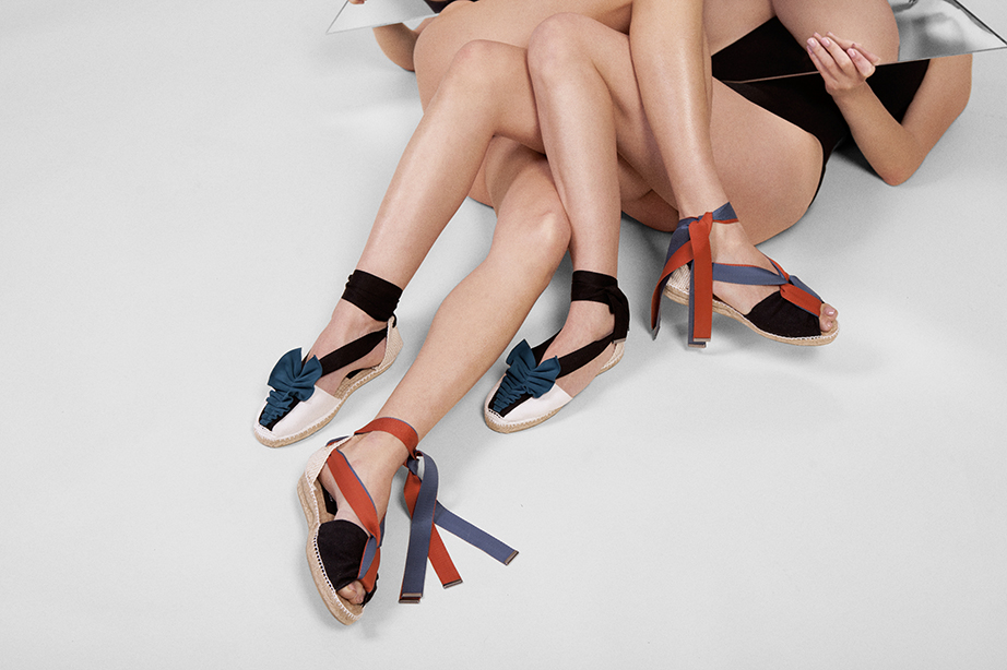 Antonia's - An espadrille luxury and conceptual brand. Consulting and E-commerce Design