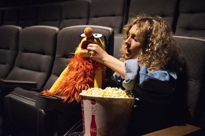 """I Took My Puppet Boyfriend To See The New R-Rated Puppet Movie - We have Jim Henson's son to thank for """"The Happytime Murders."""" I have the puppet I bought that looks like my boyfriend to thank for enjoying it."""