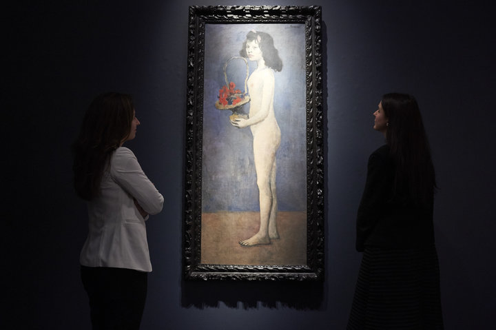 Picasso's Nude Portrait Of A Pubescent Girl Sells For $115 Million Against Backdrop Of Me Too - The Christie's auction sale reveals how art history valorizes male genius at the expense of women's humanity.