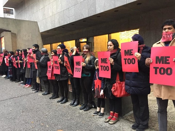 """Artist Stages Protest At Met Breuer, Where Her Alleged Abuser's Work Is On View - Jaishri Abichandani hopes protests like """"#MeToo at the Met"""" will help give voice to women in the arts who've been excluded, undercut and abused."""