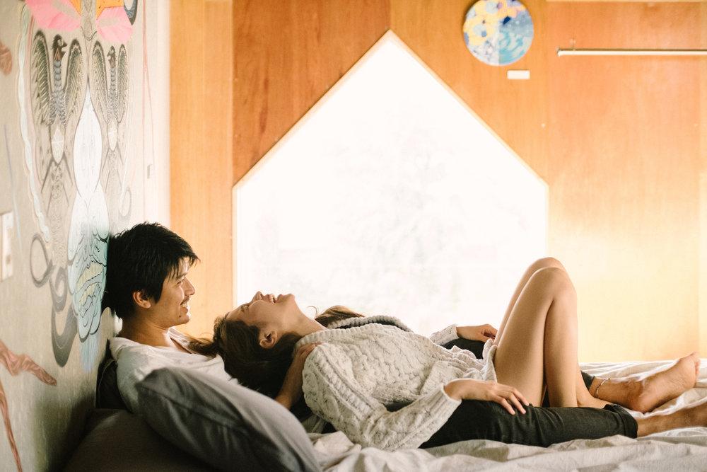 Intimate Lovebirds - 98,000 yen + tax ~※全国対象唯一の室内撮影。Tiny houseで二人のいまの関係性を表現する写真にトライ!