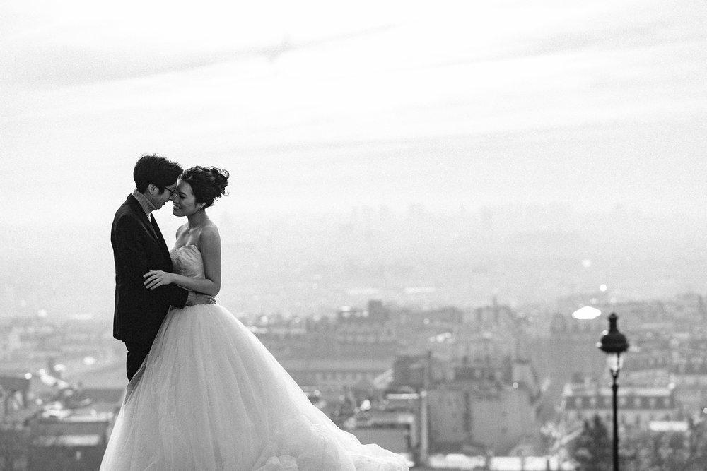 Oversea Wedding - 358,000 yen + tax ~パリやサントリーニ島、NYに南国リゾート海外挙式撮影や、ハネムーンの同行撮影など