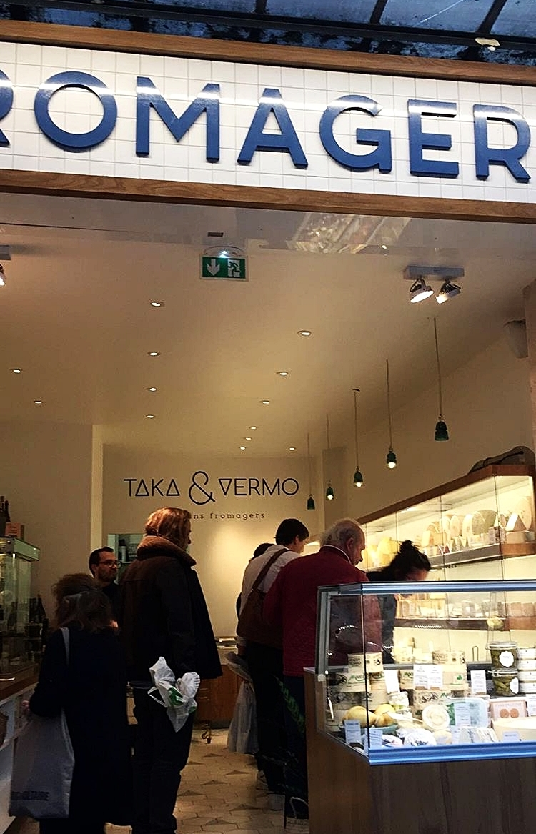 Taka & Vermo artisans fromagers | food - Tiny cheese place filled with artisan pieces of all sorts and origins that will induce tears of joy and decision paralysis to any serious dairy lover. Located on the wonderfully lively rue du Faubourg Saint-Denis - take a stroll and indulge in its charm. Another foodie pick here: popular coffee shop / florist Peonies is located just couple of doors further north.