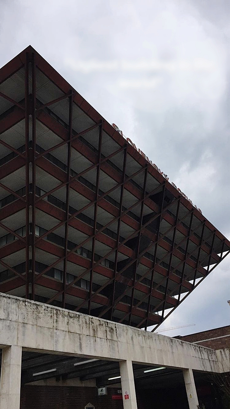 Slovak Radio Building | Architecture - Probably already seen it somewhere, since it was voted among the ugliest buildings in the world. Only thing I find ugly about it is its current desolate state - this wonderfully brutalist inverted pyramid (1985, Stefan Svetko) deserves way better.