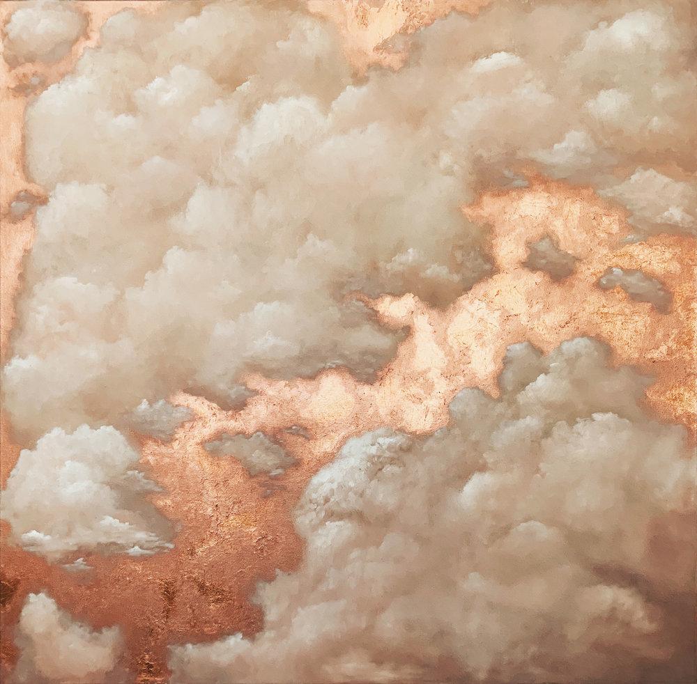 Cloud 1  36x36 Oil on Canvas