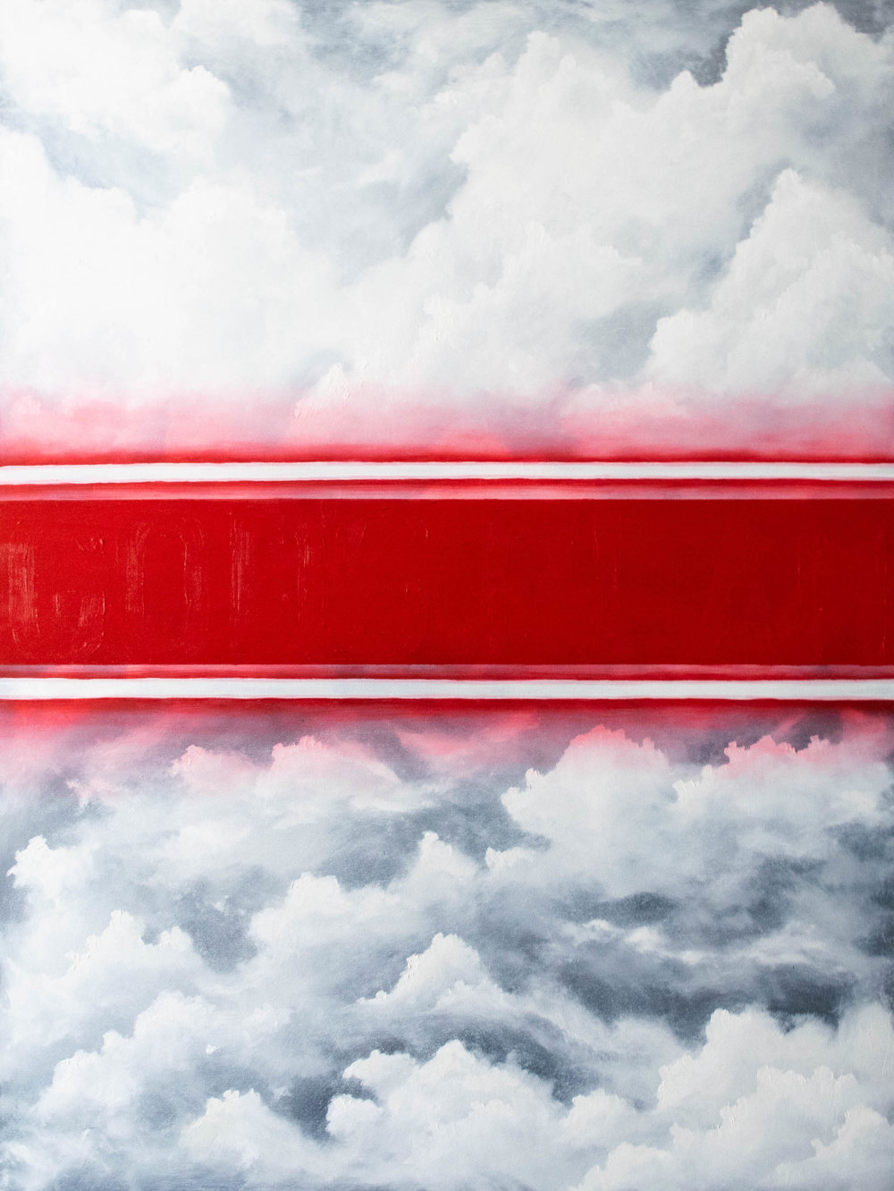 """Cloud #4 - Oil on Canvas30""""x40""""Semi Gloss FinishAVAILABLE-INQUIRE FOR PRICE"""