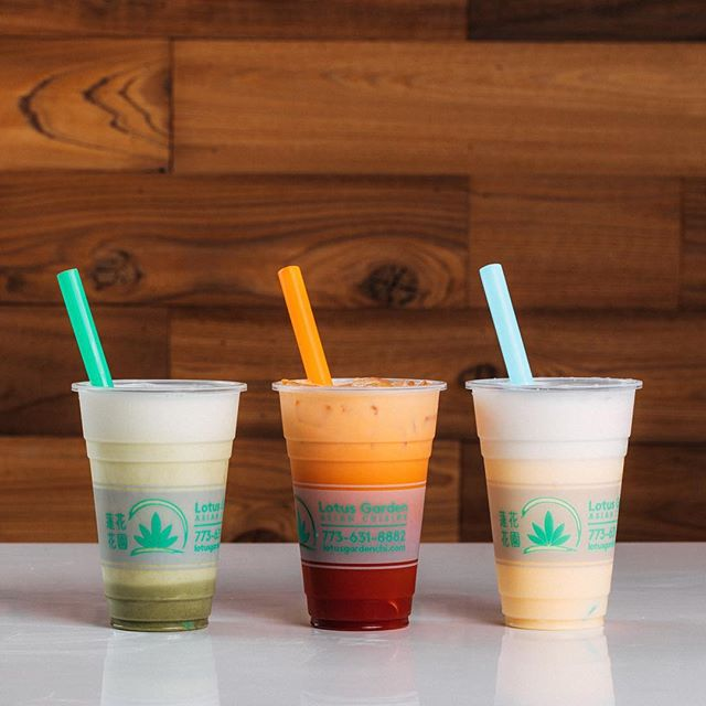 Sip me baby one more time! 🤪🥤🍉🍑🍓 Try our Flavored Milk Tea or our Fruit Flavored Iced Teas with Boba Balls for only .50 cents more! #LotusGardenChi