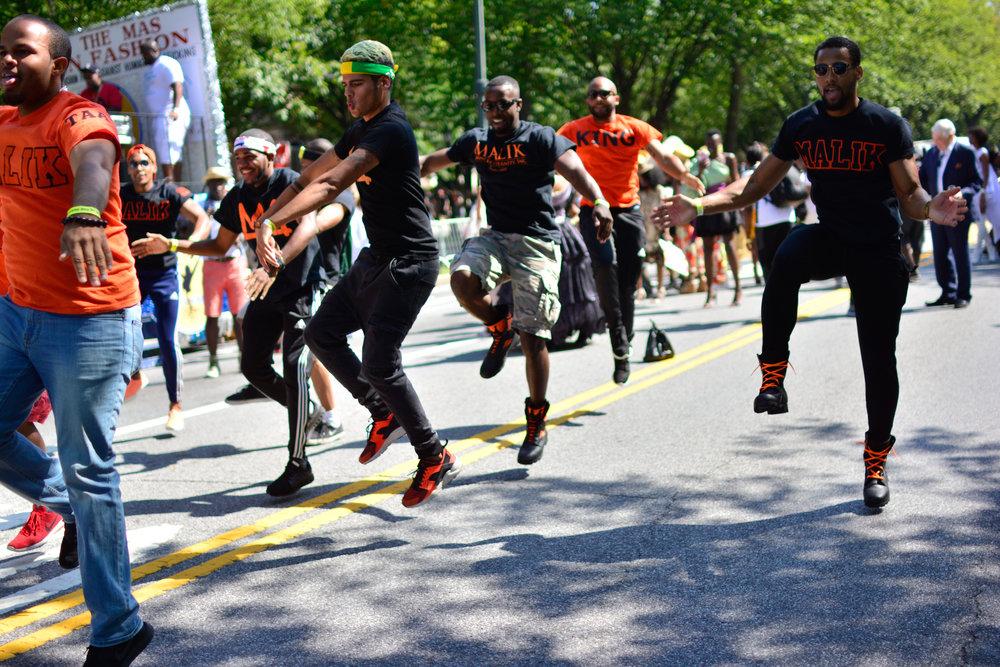 The Mas In Fashion - A Fashion Parade. Malik Fraternity.