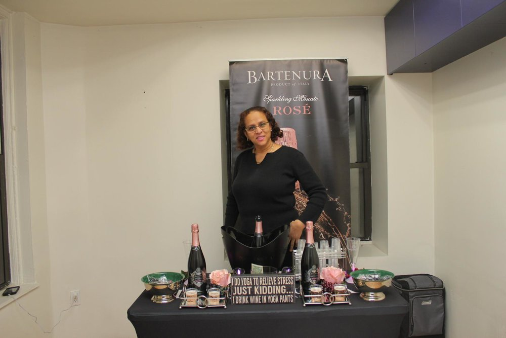CAFE @ NYFW -  June Persaud of Bartenura