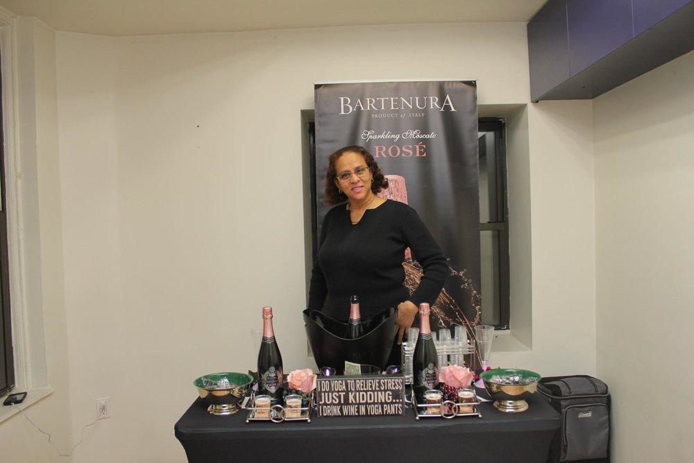 CAFE @ NYFW -  June Persaud of Bartenura