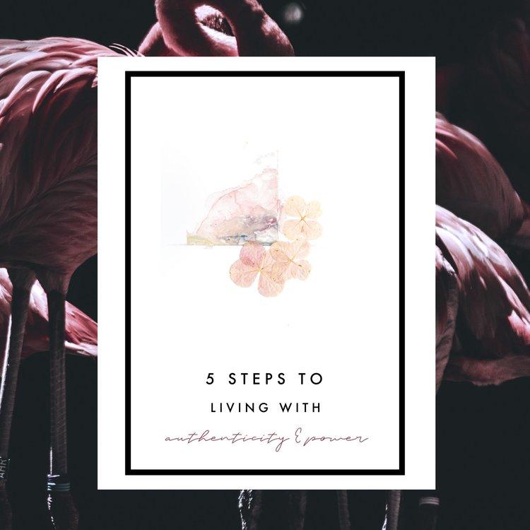 Living with Authenticity & Power // via ouiwegirl.com