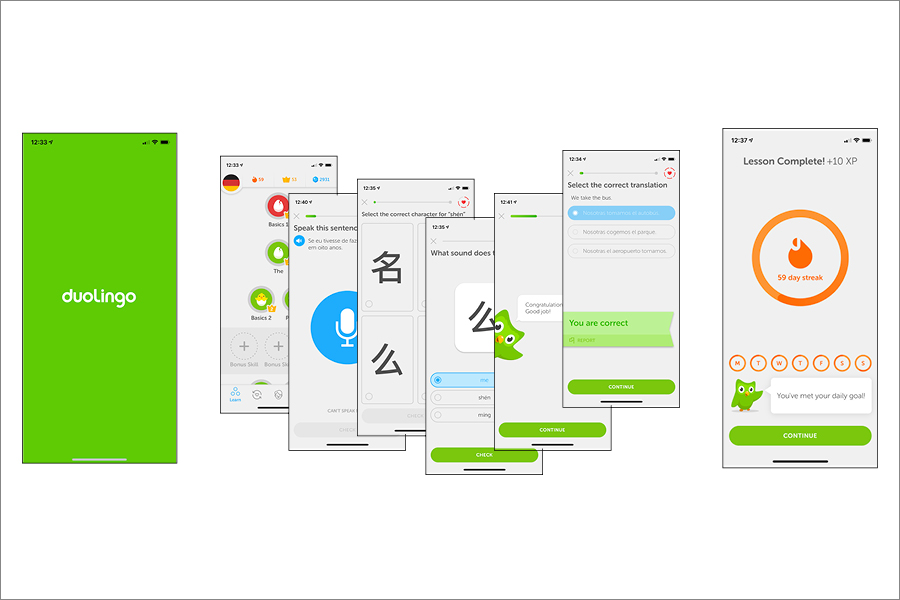 Duolingo, a language learning app, offers 81 courses to more than 300 million users.