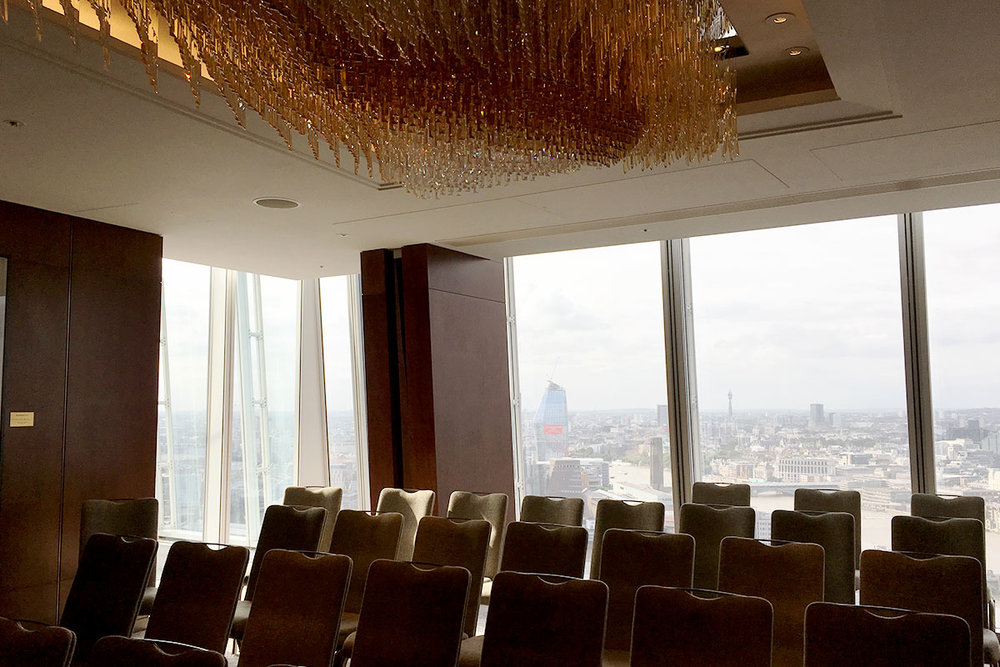 London wedding venue Shangri-La Shard