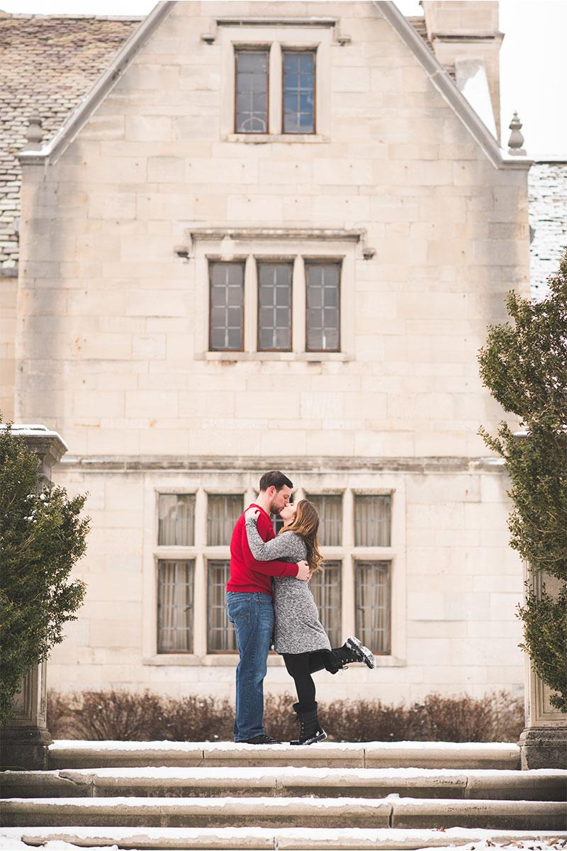 Pittsburgh winter wedding
