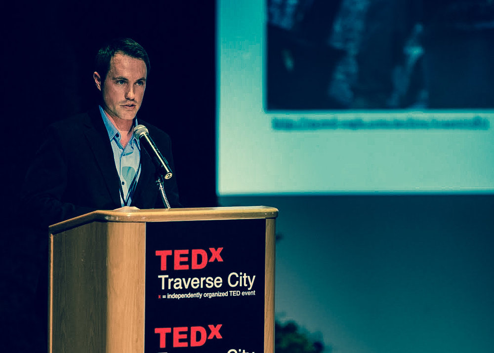 I was honored to get a chance to present at Tedx Traverse City in 2011.