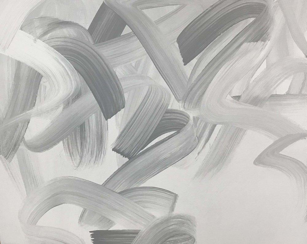 Jane Callister New Grey, 2015 acrylic on canvas 36 x 36 in (91.4 x 91.4 cm)