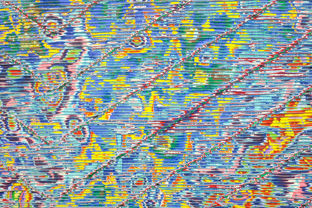David Allan Peters Detail:  Untitled #2 , 2018 acrylic on wood panel 18 x 24 in (45.7 x 61 cm)