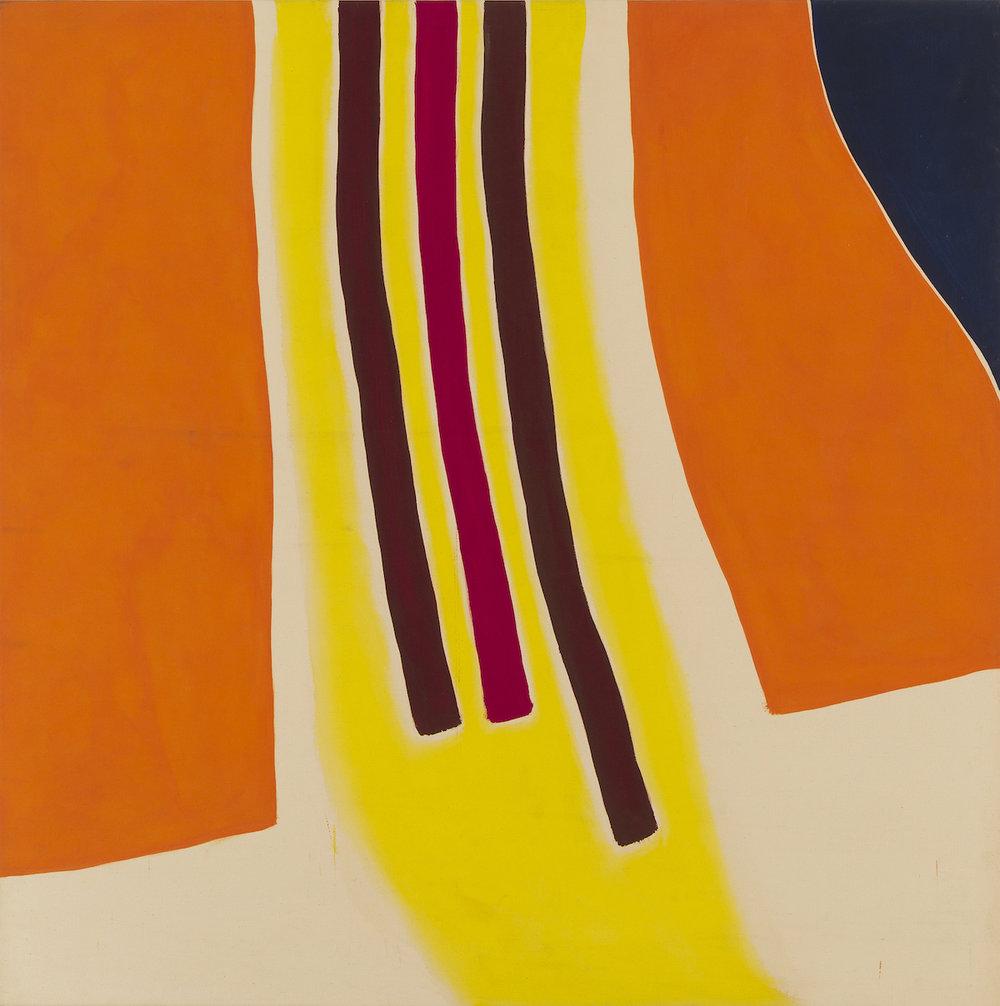 Clinton Hill  31A , 1964 acrylic on canvas 68 x 68 in (172.7 x 172.7 cm)