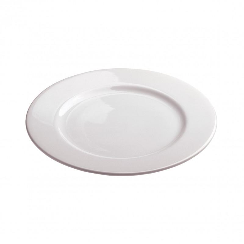 White Porcelain Dessert Plate