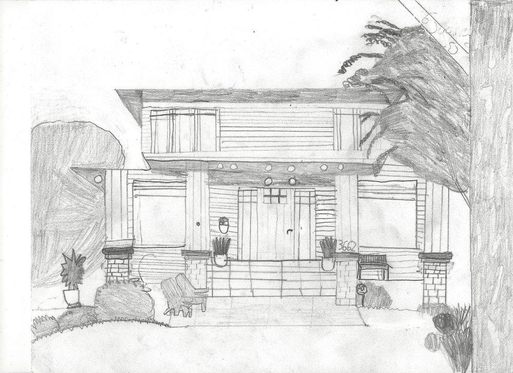 Artist rendering by Sydney Hamel, 3rd grader.