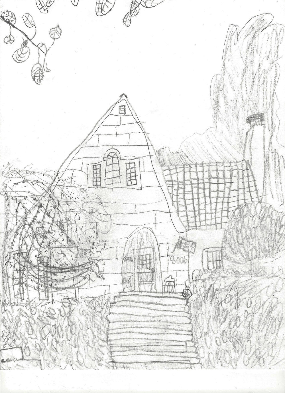 Artist rendering by  Miranda Yao, 2nd grader.