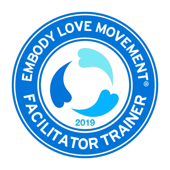 I am a Certified Embody love Movement Facilitator and Trainer forEmbody Love Movement -