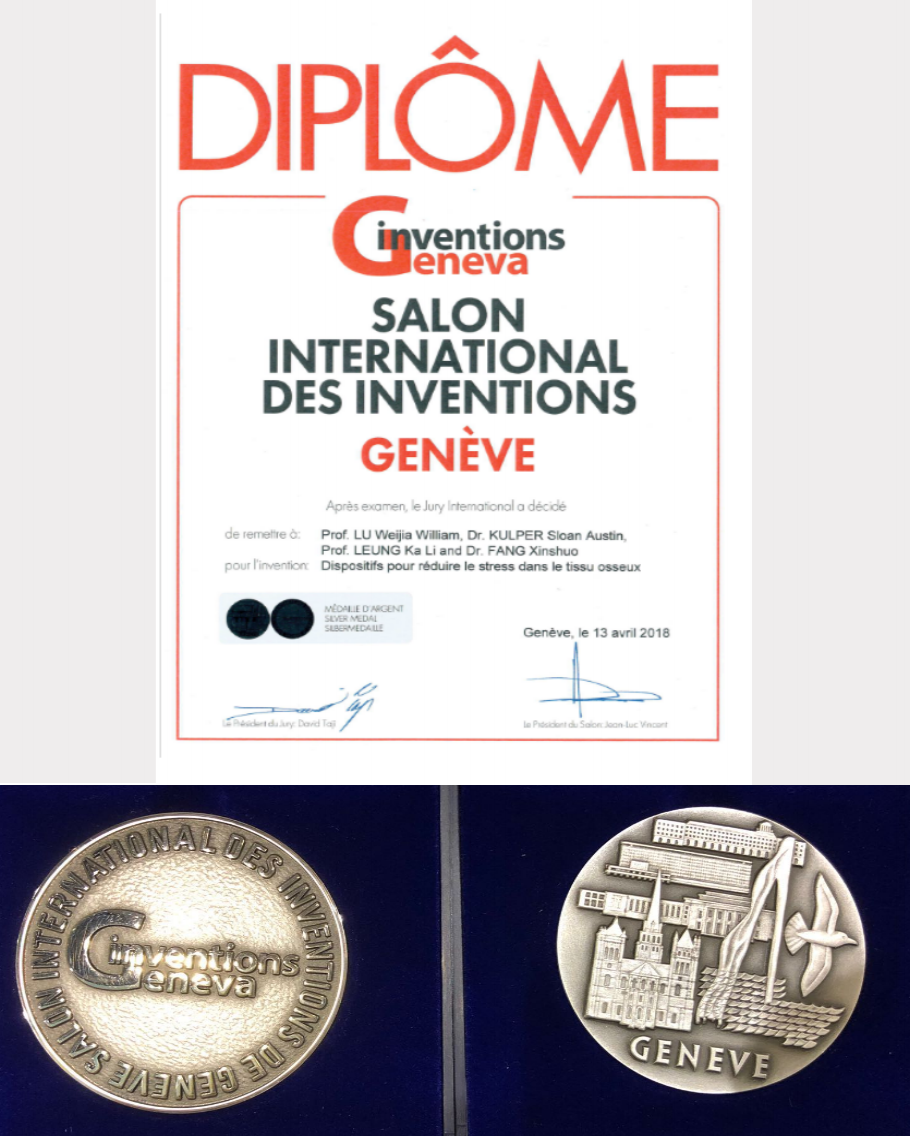 Silver Medal Winner at Inventions Geneva 2018 - 28 April 2018 GENEVA — Members of the Lifespans founding team were jointly awarded a silver medal at the 46th Salon International des Inventions Geneva for their work on the Lifespans Soft Tip technology, as part of a delegation of universities and research institutions representing the community of inventors and researchers in Hong Kong.