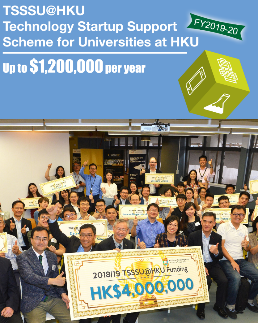HKU awards Lifespans with a 2nd year of grant support - 31 May 2018 HONG KONG — The University of Hong Kong selected Lifespans for a second year of grant funding through their highly selective Technology Startup Support Scheme, bringing the total provided through this programme to HK$1.2m (US$150,000) over two years.