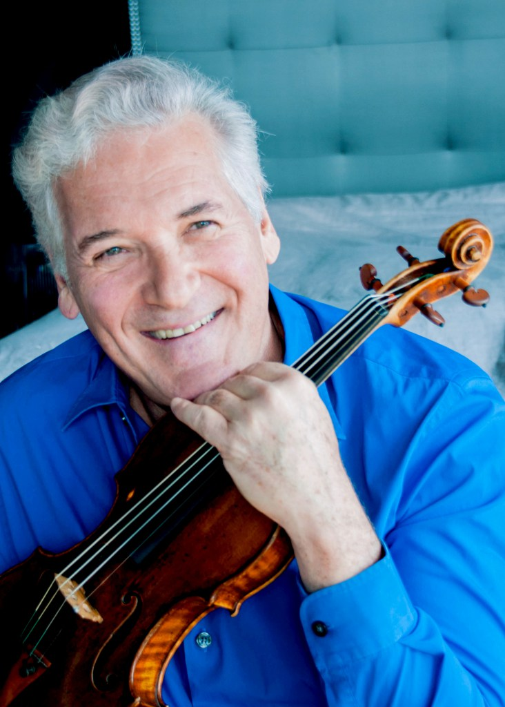 Pinchas Zukerman; photo courtesy of The Chicago Symphony Orchestra