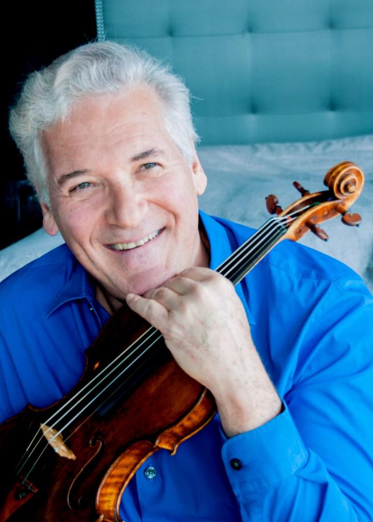 Pinchas Zukerman; photo courtesy of The Chicago Symphony Orchestra