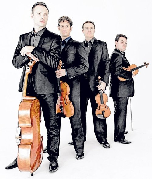 The Jerusalem String Quartet (Alexander Pavlosky and Sergei Bresler, violins; Ori Kam, viola; Kyril Zlotnikov, cello); Pinchas Zukerman, viola, Amanda Forsyth, cello: Works by Richard Strauss, Schoenberg and Tchaikovsky, Chan Centre, October 14, 2018.