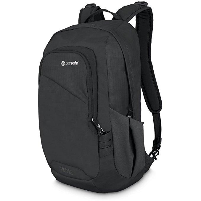 1. Pacsafe Venturesafe 15L GII Anti-Theft Daypack, Black -